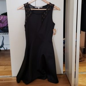 Very flattering black dress Rachel Roy